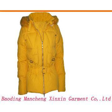 Lady fashion down coat