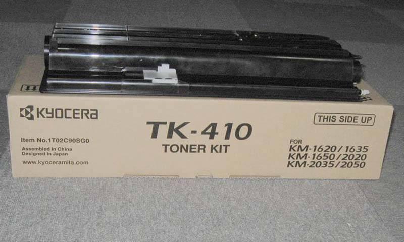 compatible toner cartridge TK-410/411/420/421/418/428 for Kyocera