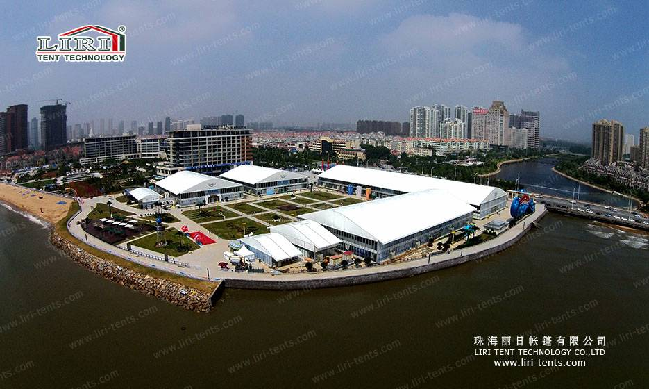 40x100m Big Arcum Double Decker Tent for Exhibition and Fair