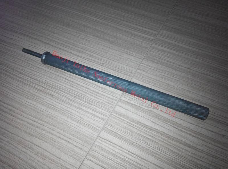 Ru-Ir coating titanium anode bar