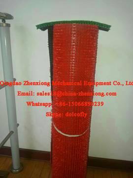 Artificial grass carpet making machine