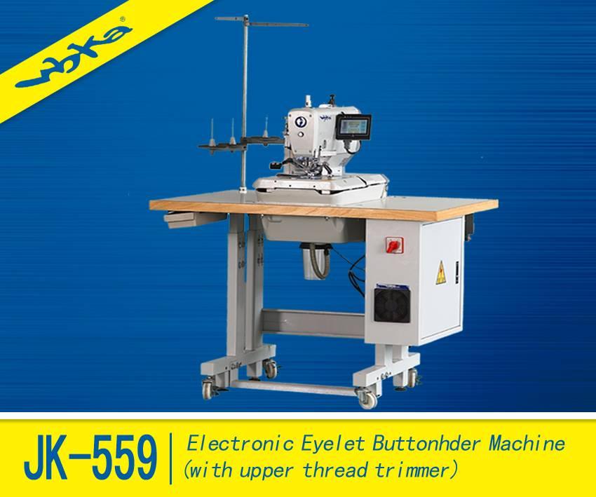 JK-559 High Speed Atomatic Electronic Eyelet Button Holer Machine