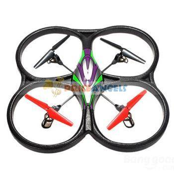 WLtoys V262 Cyclone 2.4GHz 4-Channel RC Quadcopter with 6 axis Gyro & Camera Function