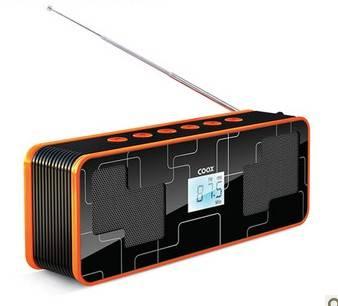 Card Speaker,TF card/U disk/FM radio,Support Different Music Sources