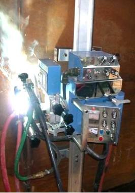 Automatic Gas-Electric Vertical Seam Welding Machine