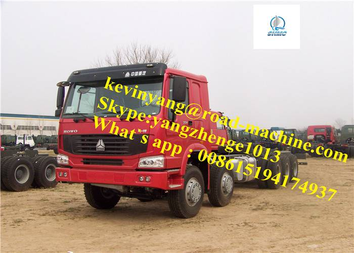 ForCongoLoading 60000KG/60Ton Sinotruck 8 x 8 All tires Driving Heavy Cargo Truck With Heigthen Ch
