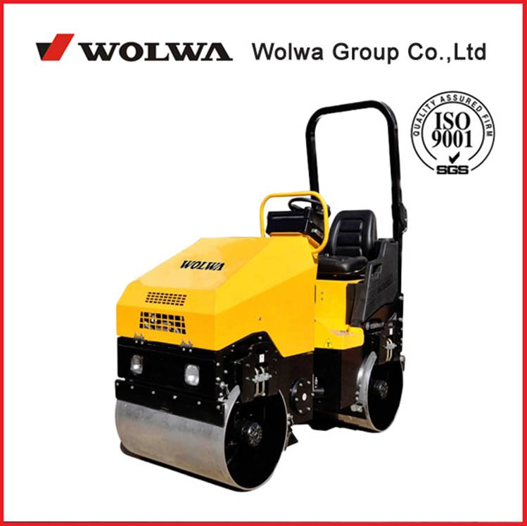 GNYL51BC Driving roller double drum road roller with CE certificate
