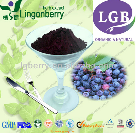 Blueberry Extract anthocyanin 5%-25%
