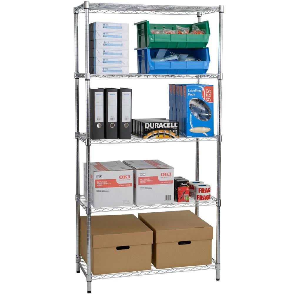 Selling chrome shelving unit