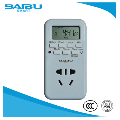 Weekly Programmable Digital Timer Switch