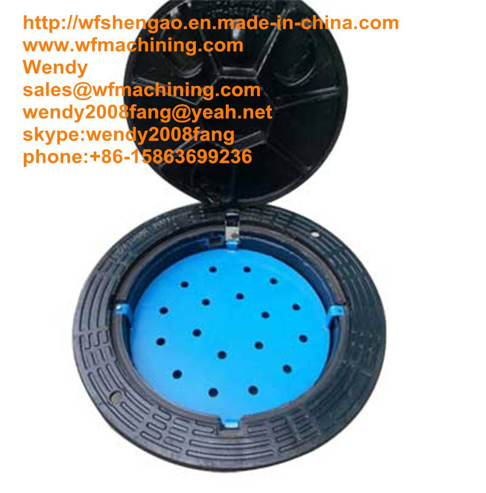 En124 Sand Casting Ductile Iron Manhole Covers Trench Drain for Drainage