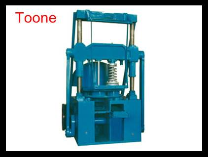 Double column closed 220 honeycomb briquette machine