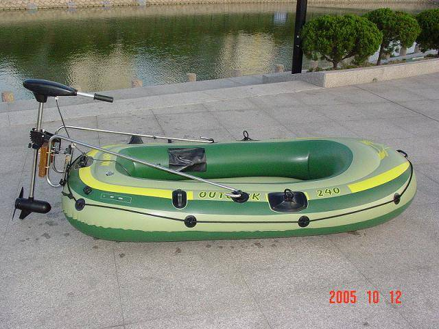 electric inflation boat