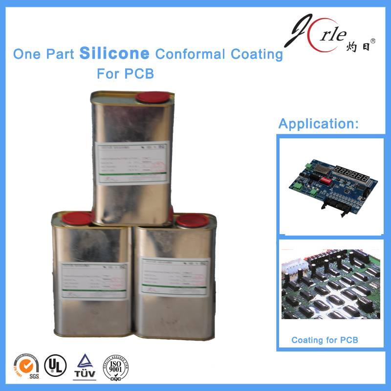 transparent silicone conformal coating