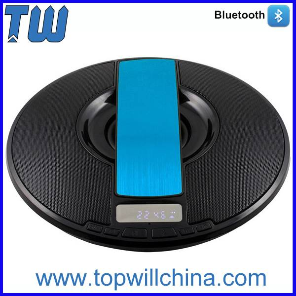 Newest Mini Bluetooth Speaker Fashion UFO Plain Round Design