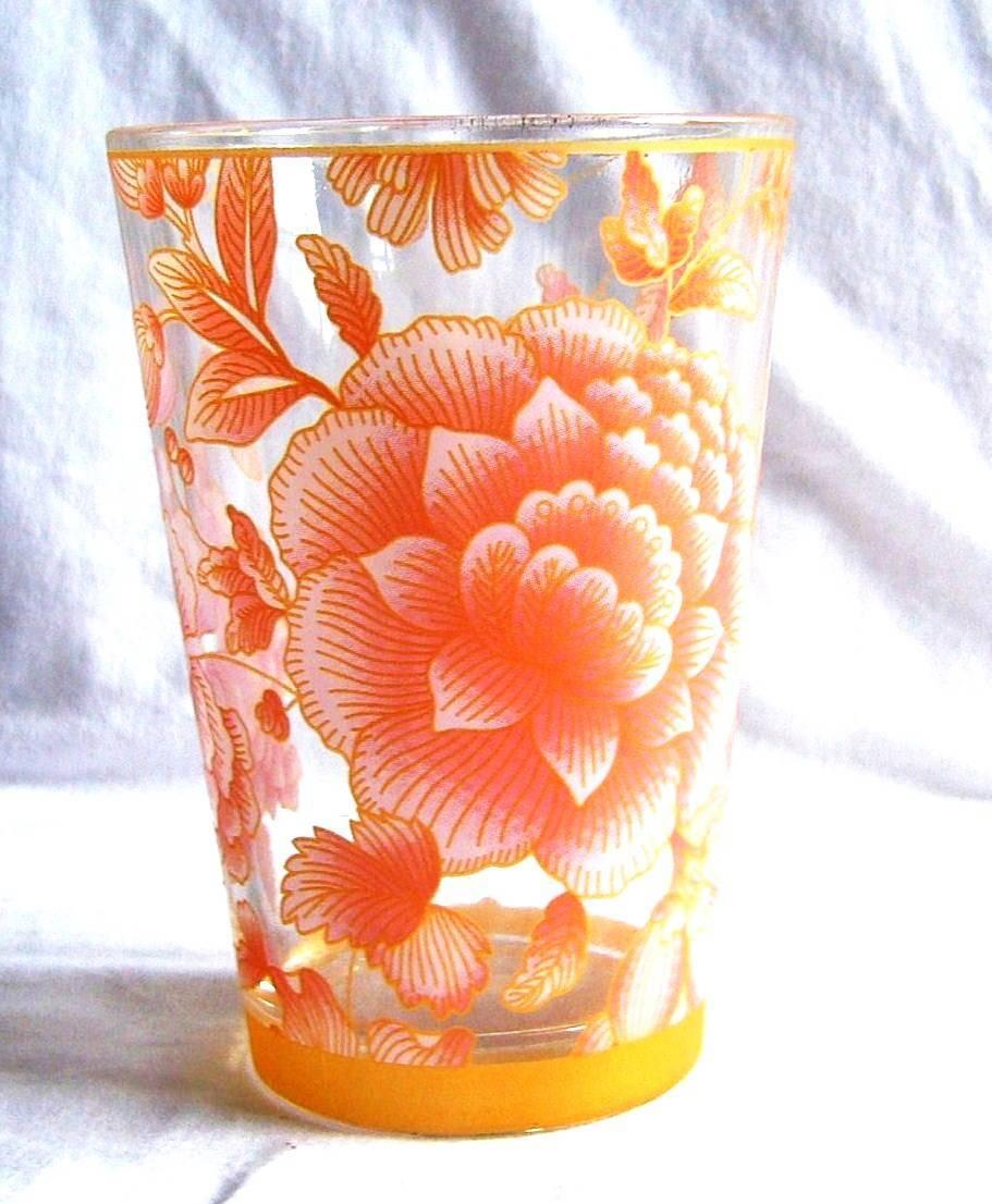 applique glass cup