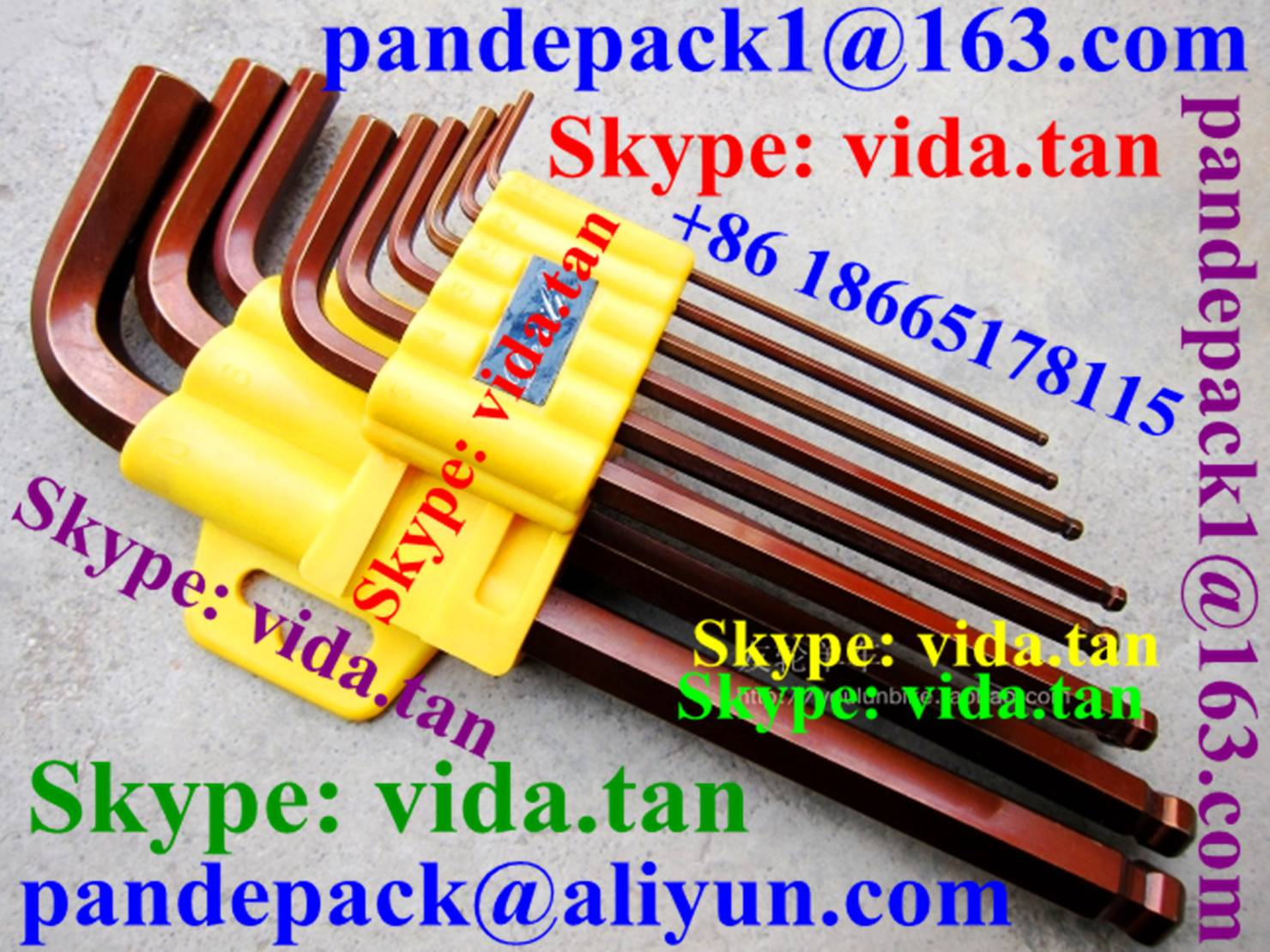 L type Allen Wrench with Ball Head for Tool Holder/CNC Lathe Tool Parts/Accessories/CNC Tool Parts