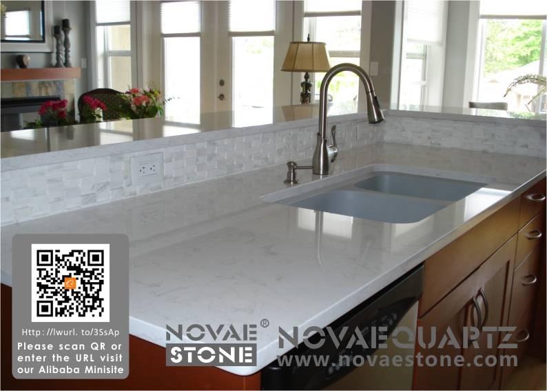 NV902 Luxor Grigio Quartz Stone,Quartz countetops