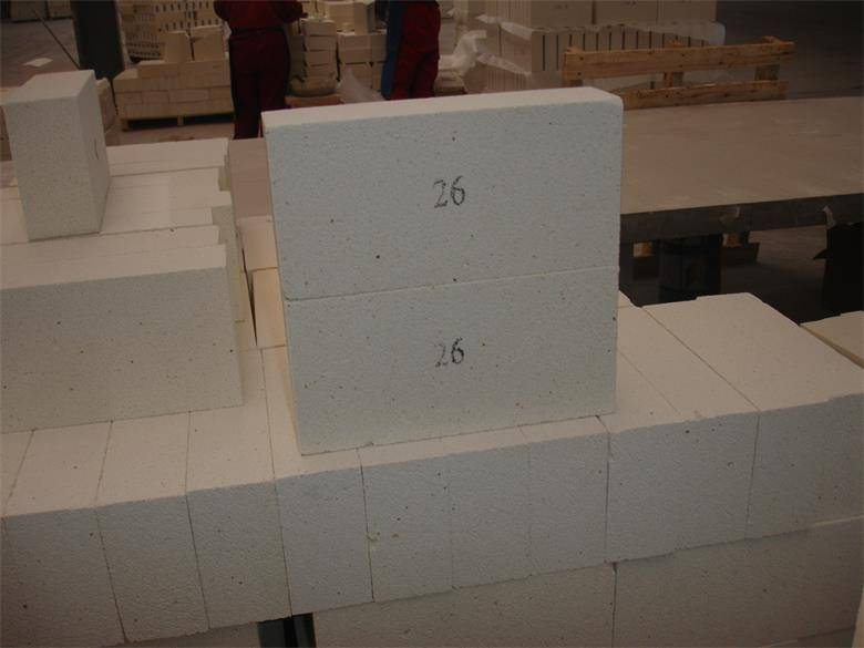 Grade 26 light weight firebrick thermal insulation bricks