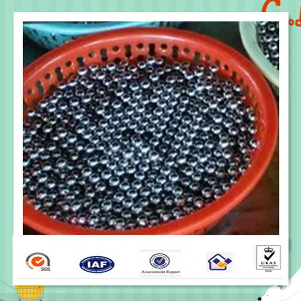 bearing ball with lower vibration and higher sphericity