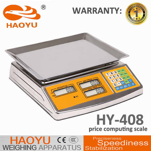 HY-408 ACS Price Computing Electronic Platform Scale