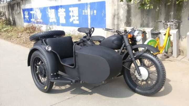 Personal customized 750cc motorcycle sidecar