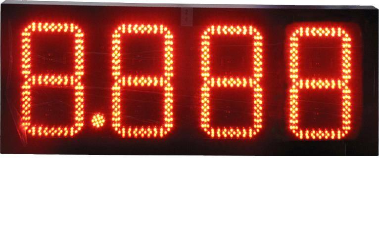led gas price display