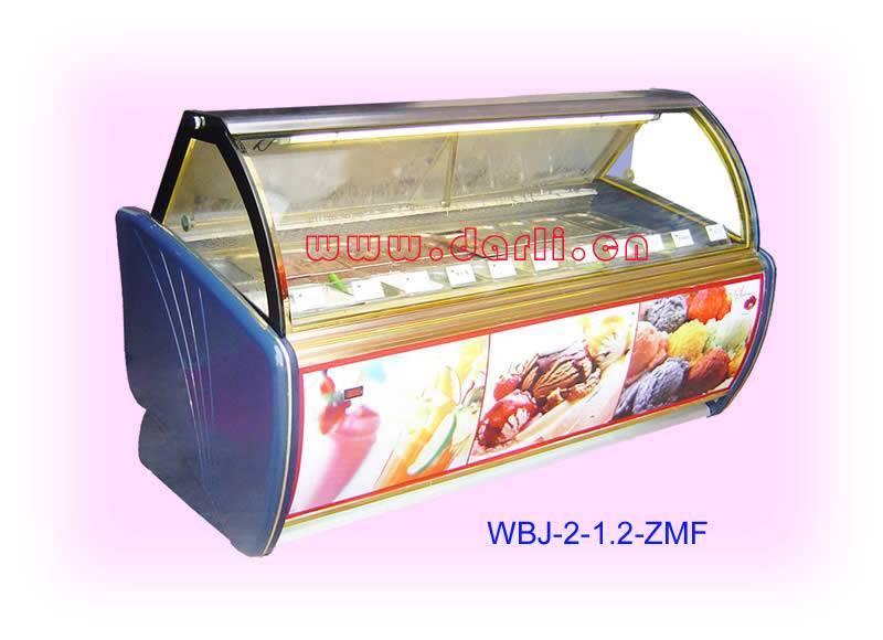Ice cream cabinet