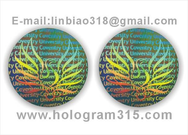 hologram sticker