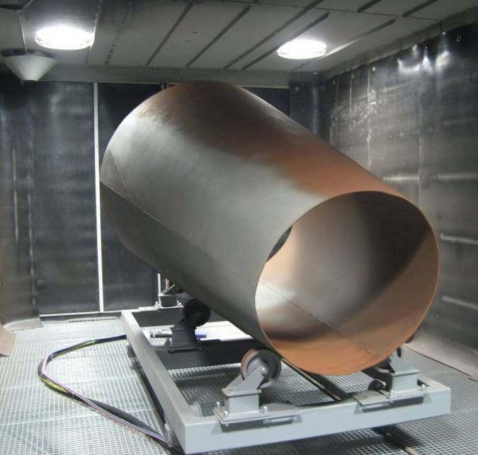 Air Blasting Booth