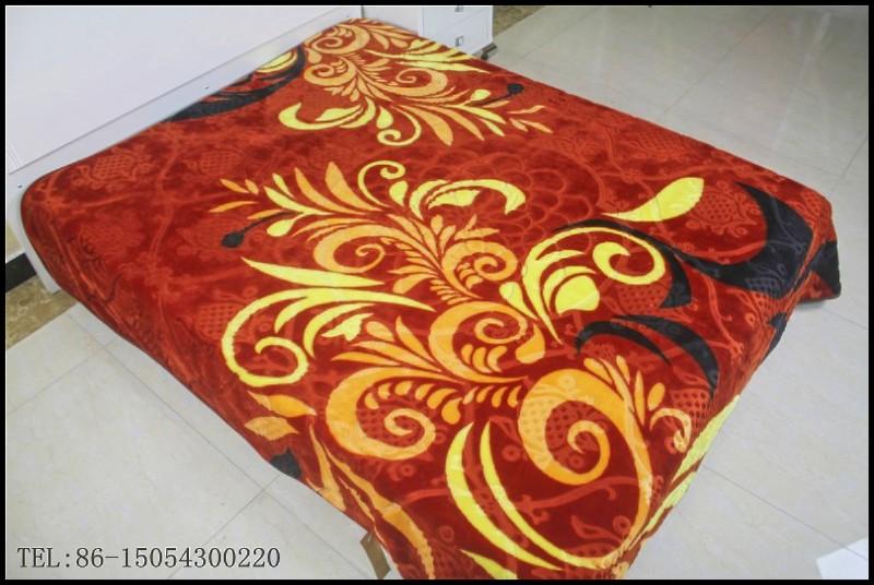 polyester printed blanket