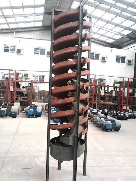 gravity separator of spiral chute machine