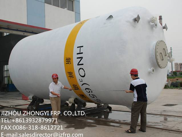 chemical FRP vessel/tank