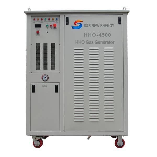Energy-saving HHO carbon steel cutting machine