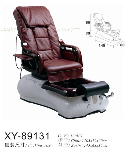 Salon Spa Pedicure Chair Fibreglass Sink XY-89131
