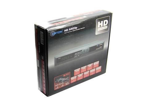 Orton HD X403p digital satellite receiver support cccamd newcamd avatarcamd