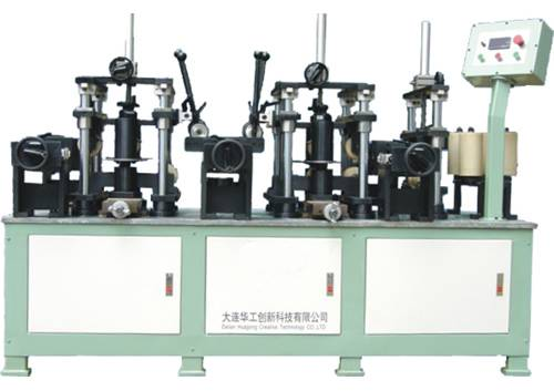 Two-color laminating machine
