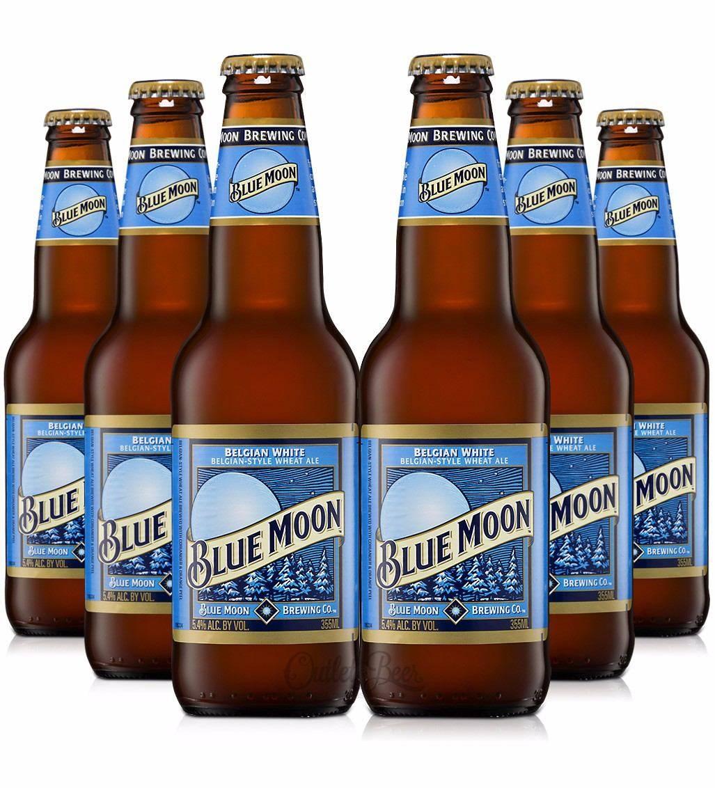 Blue Moon beer Belgian white