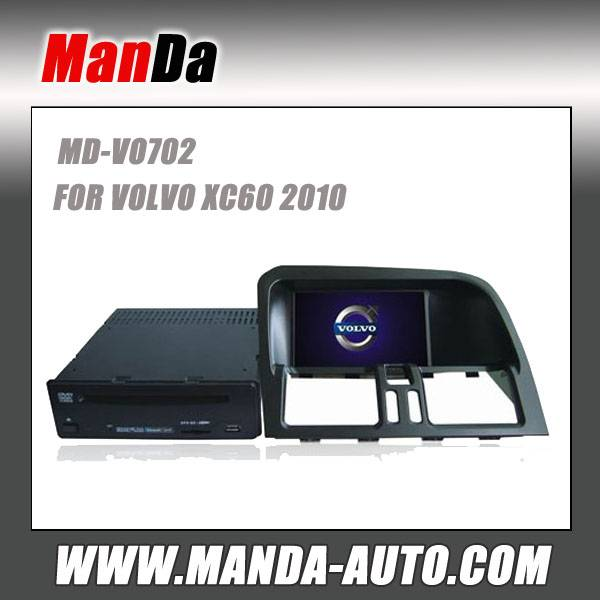 2 din car radio for VOLVO XC60 audio hd touch screen dvd radio gps video player