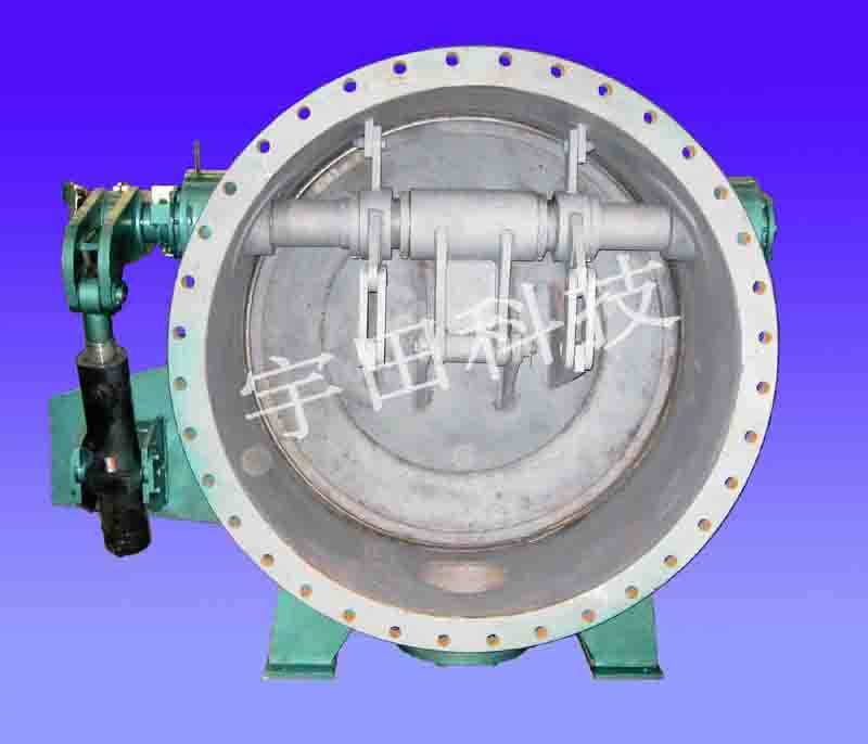 double eccentric butterfly valve with laminar seal