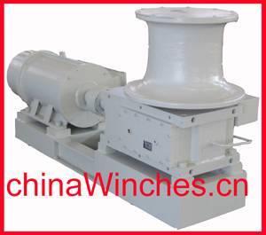 horizontal / vertical electric marine anchor windlass capstan