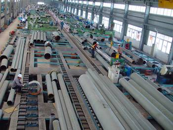 Piping Prefabrication Production Line (Fixed Type)