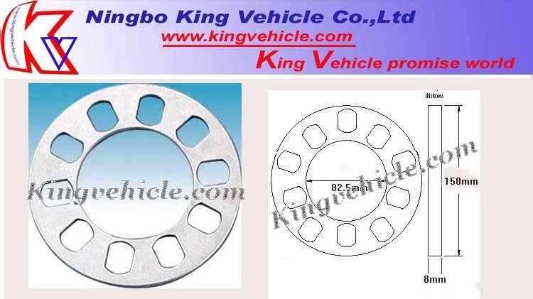 5 x 4 1/2 -5 wheel spacer KVWS003