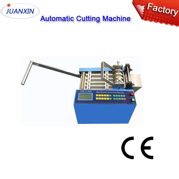 Automatic plastic pvc tube cutting machine