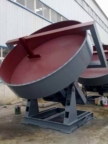Disc granulator raw materials and structure
