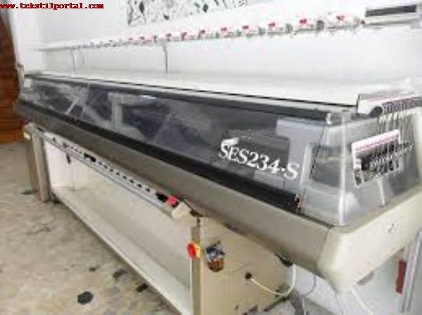 For Sale used Shima Seiki SES 234 - S 7 gg