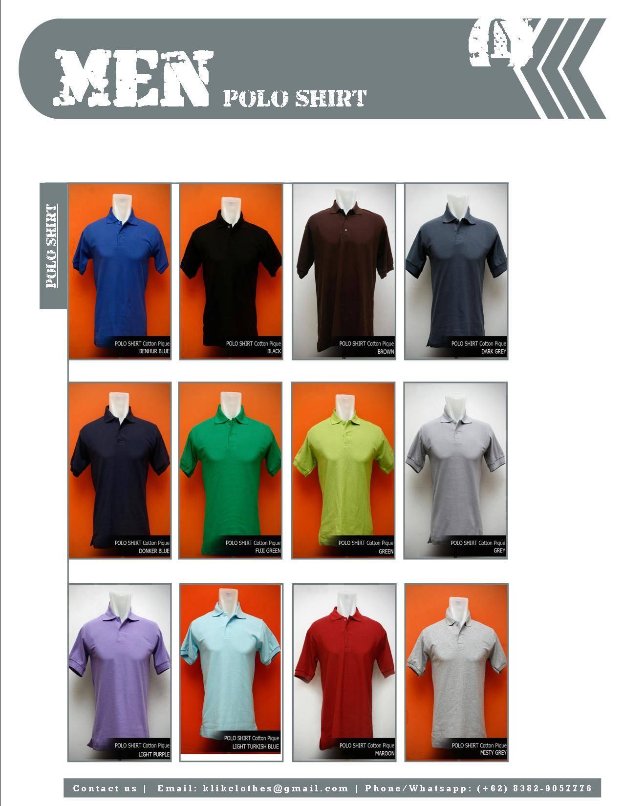 High Quality Plain Polo Shirt