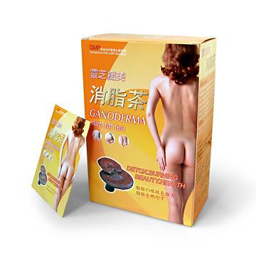 Weight loss original slimming tea ganoderma slim fat tea