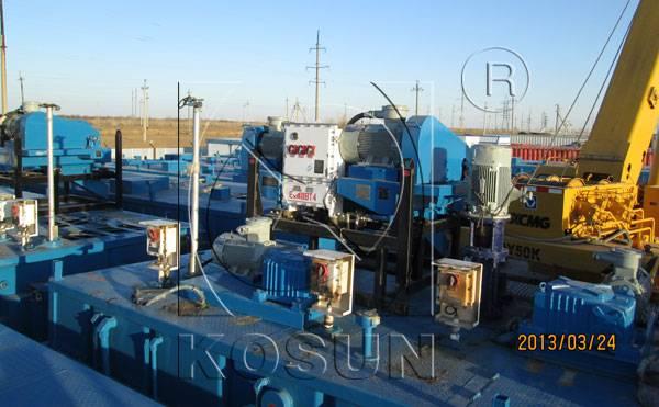 KOSUN oilfield drilling mud decanter centrifuge
