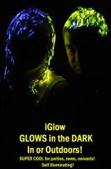 New party product iglow hair and body gel. Glows in the dark. Distributors wanted worldwide.